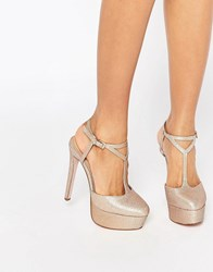 Asos Play It Up Platforms Gold
