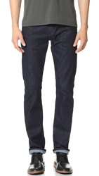 7 For All Mankind Straight Leg Luxe Performance Jeans Deep Water