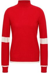 Madeleine Thompson Wool And Cashmere Blend Turtleneck Sweater Red