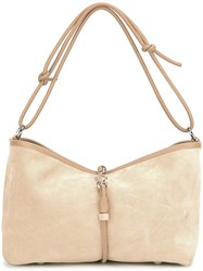 Corto Moltedo 'Olive' Shoulder Bag Nude Neutrals