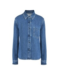 8 Denim Denim Shirts Blue