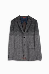 Missoni Men S Degrede Woven Blazer Boutique1 Grey