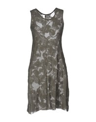 Almeria Short Dresses Grey