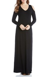 Karen Kane Women's Cold Shoulder Maxi Dress