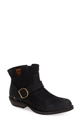 Fiorentini Baker 'Chad' Textured Leather Bootie Women Black Leather
