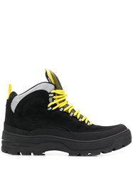 Tommy Jeans Colour Block Expedition Boots Black