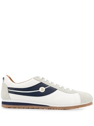Bally Low Top Trainers White