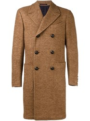 The Gigi 'Alya' Double Breasted Coat Brown