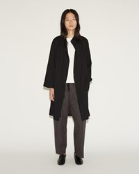 Moderne Painter Coat Black