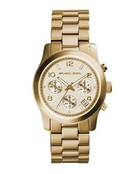Michael Michael Kors 38Mm Jet Set Chronograph Bracelet Watch Gold