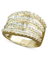 Effy Collection Effy Diamond Ring In 14K White Or Yellow Gold 1 1 2 Ct. T.W.