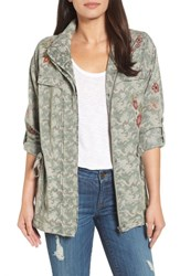 Billy T 'S Embroidered Camo Jacket