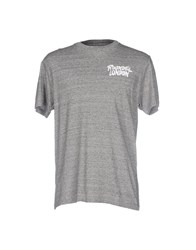 Roundel London T Shirts Grey