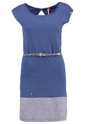 Ragwear Soho Jersey Dress Blue