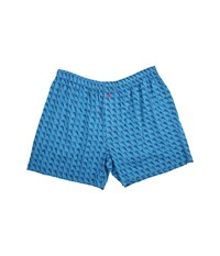 Tommy Bahama Big Tall Marlin Madness Woven Boxers Vibrant Blue Combo Men's Underwear