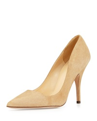 Licorice Suede Point Toe Pump Light Camel Kate Spade New York