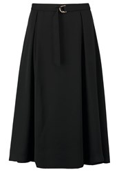Mintandberry Pleated Skirt Black