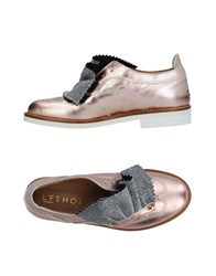 L'f Shoes Loafers Copper