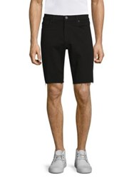 J Brand Eli Cut Off Shorts Bitman Black Grey Ivory