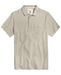 Tasso Elba Men's Upf 30 Performance Polo Only At Macy's City Taupe