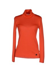 Blugirl Blumarine Knitwear Turtlenecks Women Red