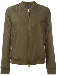 Woolrich Classic Bomber Jacket Green