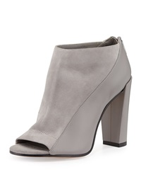 Bayard Two Tone Leather Bootie Truffle Vince