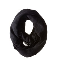 Hat Attack Classic Everyday Loop Black 1 Scarves