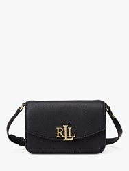Ralph Lauren Elmswood Madison Leather Belt Bag Black