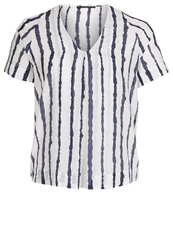 Bruuns Bazaar Zandra Tunic Striped White