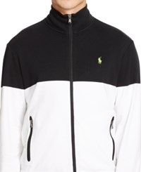 Polo Ralph Lauren Colorblocked Interlock Track Jacket