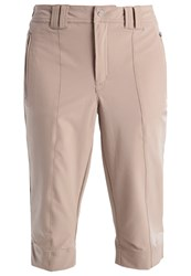 Luhta Rosine 3 4 Sports Trousers Beige