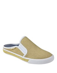 Tommy Hilfiger Frank Canvas Slip On Sneakers Natural