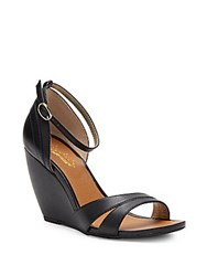 Seychelles Choice Leather Wedge Sandals Luggage