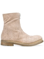 The Last Conspiracy Pony Hair Boots Nude Neutrals