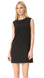 Ali And Jay Laced Eyelet Shift Dress Black