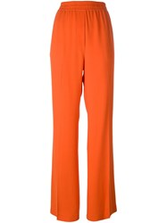 3.1 Phillip Lim Flared Trousers Yellow And Orange