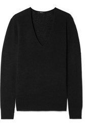 Theory Adrianna Cashmere Sweater Black
