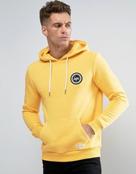 Hype Hoodie With Crest Logo Yellow
