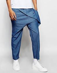 The New County Wrap Pants Blue