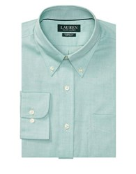 Lauren Ralph Lauren Relaxed Fit Solid Dress Shirt Green