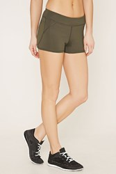 Forever 21 Active Stretch Knit Shorts