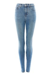 Topshop Tall Clean Jamie Jeans Mid Stone