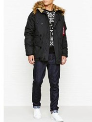 Alpha Industries Explorer Nylon Parka Black
