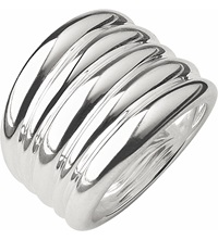 Links Of London Hope Sterling Silver Wide Ring