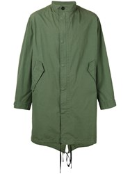 Nudie Jeans Co Oversized Anorak Men Cotton M Green