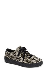Cycleur De Luxe Albufeira Genuine Calf Hair Sneaker Animal Print Calf Hair