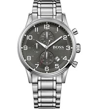 Hugo Boss 1513181 Aeroliner Stainless Steel Watch