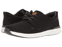 Reef Rover Low Black White Men's Lace Up Casual Shoes