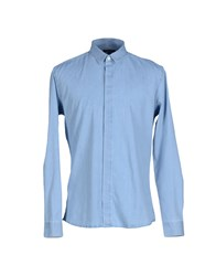 Surface To Air Denim Denim Shirts Men Blue